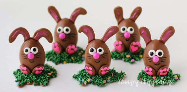 Chocolate Bunnies for Easter