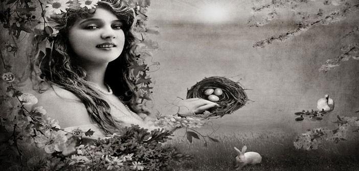 goddess eostre ishtar