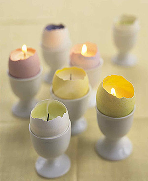 Easter Egg Tealights