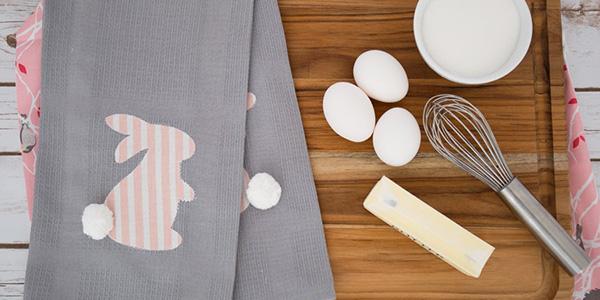 Easter Kitchen Linens