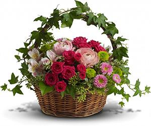 Flower Easter Basket