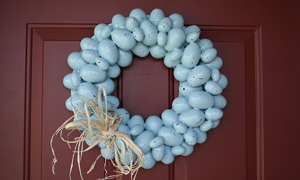 Painted Egg Wreath