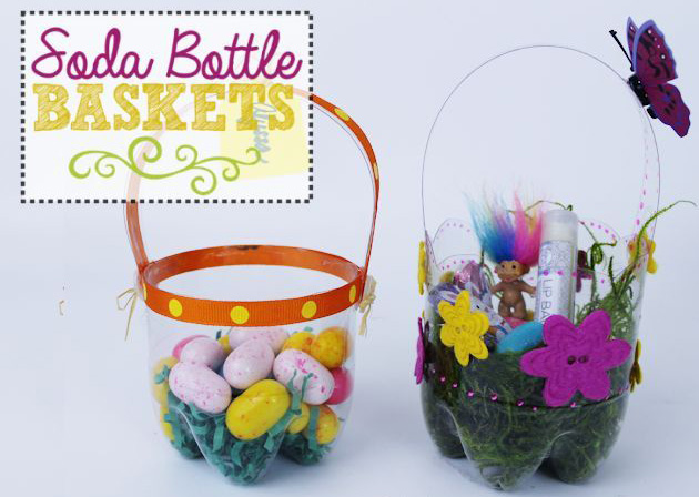 Pop Bottle Easter Basket