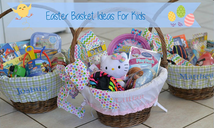 Easter basket ideas of kids