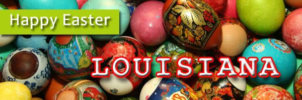 Easter in Louisiana