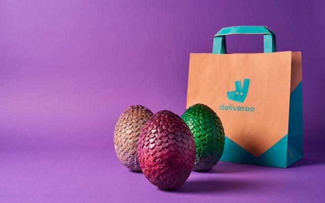 GOT Themed Dragon Eggs for Easter